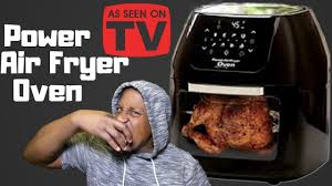 Power Air Fryer Oven Review - YouTube