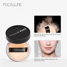 <b>FOCALLURE</b> =Loose Powder Foundation <b>Oil</b>-<b>control Smooth</b> Face ...