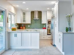 White Kitchen For Small Kitchens Backsplashes For Small Kitchens Pictures Ideas From Hgtv Hgtv