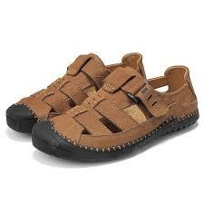 <b>AILADUN Summer Men Sandals</b> Brown EU 38 Sandals Sale, Price ...