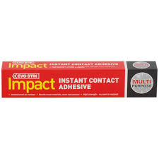 evo stik multi purpose impact instant contact adhesive g evo stik multi purpose impact instant contact adhesive 30g
