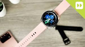 How To Change The <b>Strap</b> On a <b>Samsung</b> Galaxy Watch 3 - YouTube
