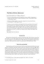 (PDF) The flora of Istria: Juncaceae
