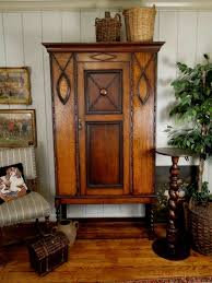 antique english jacobean hall closet and armoire with barley twist legs and an oak patina antique english wardrobe armoire