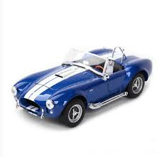 Welly <b>1:24 1965</b> Shelby Cobra 427 SC <b>Diecast</b> Model Racing Car ...