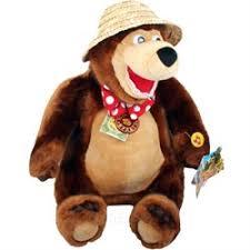 <b>Мягкая игрушка Мишка</b> большой 48 см, в шляпе из мультика ...