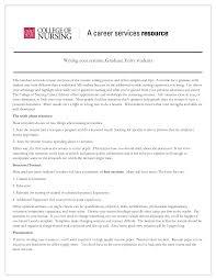 new grad chicago sales lewesmr nursing resume for new grad