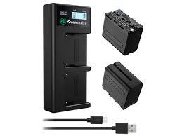 <b>Зарядное устройство Powerextra EN EL15</b> 2 аккумулятора 21274 ...