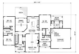 House Plan at FamilyHomePlans comBungalow Country European Traditional House Plan Level One