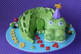 <b>Crocodile</b> cake for a very special <b>dual</b> birthday celebration. The ...