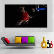 <b>SELFLESSLY</b> Michael Jordan Wings <b>Posters</b> Wall <b>Art</b> Canvas ...