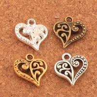 Wholesale <b>Antique Gold</b> Heart Charms