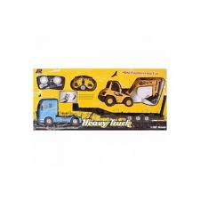 Трейлер <b>QY Toys Радиоуправляемый грузовик</b> и трактор - купить ...