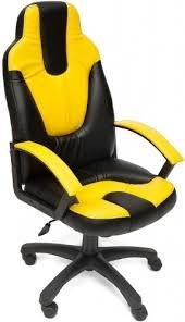 Купить <b>кресло</b> и стул <b>Tetchair Neo</b> 2, черный/желтый по выгодной ...