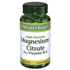 Нэйчес Баунти <b>Цитрат магния</b> с витамином В6 таб. №60 ...