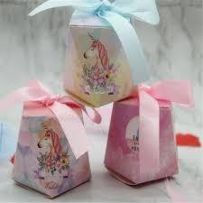 <b>10Pcs</b> Flamingo/<b>Unicorn</b>/Deer Candy Box Happy Birthday <b>Baby</b> ...