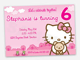 hello kitty birthday invitations a scart com printable hello kitty bir