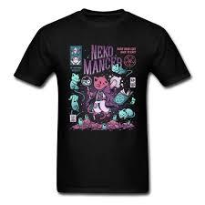 Neko Mancer Cat Wizard Funny T Shirt <b>Best Christmas Gift High</b> ...