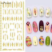 <b>Наклейки для ногтей</b>, 1 лист, Aztec, стикеры 3D <b>на ногти Nail</b> Art ...