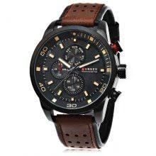 <b>CURREN 8250 Casual Men</b> Quartz Watch | Cool watches, Watches ...