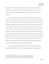 The boston massacre essay draft