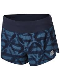 "New Balance Women's Spring <b>Impact</b> Run 3"" <b>Printed Short</b>"