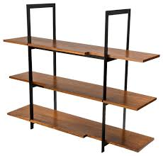 modern steel furniture. wood and black steel shelving unit displayandwallshelves modern furniture t