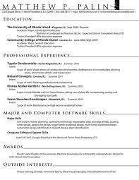 landscaping resume sample civil engineering architect landscape resume samples