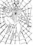 Человек паук раскраски флеш
