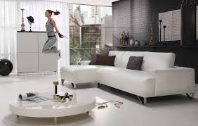 ideas inspirations grey brick wall living room paint idea with white sofa and low round table brick living room furniture