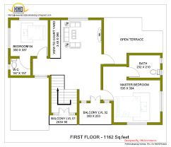 storey house design   d floor plan   Sq  Feet   Indian     storey house first floor plan   Sq  M   Sq  Feet