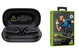 Bluetooth-гарнитура <b>Borofone BE33</b>, черный купить по низкой цене