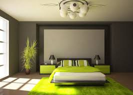 green grey bedroom decorating