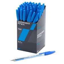 <b>РУЧКА Hatber шариковая</b> T-<b>34</b> Синяя 0,7мм с колпачком и клипом ...