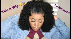 This Looks So Natural | Affordable Afro <b>Kinky Curly Lace</b> Front Wig ...