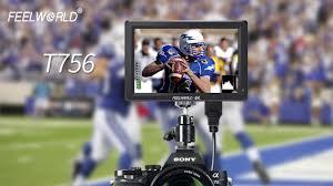 "<b>FEELWORLD T756 7</b>"" 4K camera Monitor with for gimbal zhiyun ..."