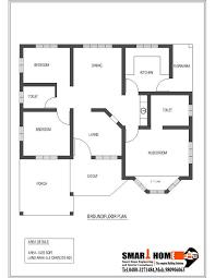 bedroom house  Smart home and Kerala on Pinterest Sqft Kerala style Bedroom House Plan from Smart home GF PLAN