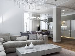 elegant living room interior pretty white scheme furniture beautiful living room pillar