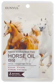 Eunyul тканевая <b>маска</b> Natural Moisture Mask Pack с <b>лошадиным</b> ...