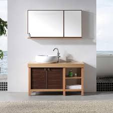 free standing bathroom cabinets simple mirrored