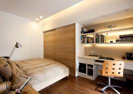 bed with study table design decorations ideas inspiring excellent affordable minimalist study room design