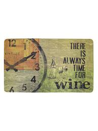 40% <b>APACHE MILLS Коврик</b> There is Always Time for Wine 45x75