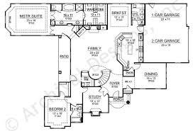 Oak Park House Plans   Expandable   Home Plans By Archival DesignsOak Park House Plan   House Plan   In Law Suite   First Floor Plan