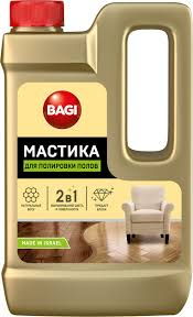 <b>Средство</b> для <b>полировки</b> полов Bagi Мастика, 500 мл — купить в ...