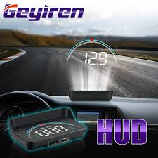 <b>GEYIREN</b> New M8 <b>Head</b>-Up Display LED Display <b>HUD OBD</b> II Car ...