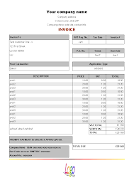 construction estimate template for uniform invoice vat service invoice form