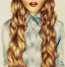 """Résultat de recherche d'images pour """"long hairstyle tumblr blonde"""""""