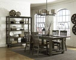 Grey Dining Room Table Sets Magnussen Home Karlin Rectangular Dining Table Stoney Creek