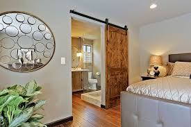 25 bedrooms that showcase the rustic charm of sliding barn doors_10 charming mirror sliding closet doors toronto