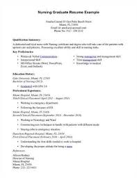 graduate nurse resume objectiveprofessional experience for a graduate nurse resume